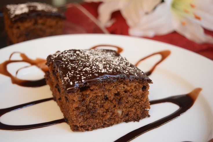 This Eggless Whole wheat cake with chocolate buttercream frosting is a delicious cake made with the combination of thick yogurt cinnamon and nuts. It is super moist and can be serve for tea time cake party or as a after meal dessert for dinner Recipe by Antara. #EgglessBakingContest   http://ift.tt/2b5VfT8 #Vegetarian #Recipes