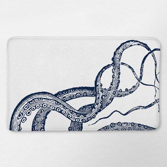 Hey, I found this really awesome Etsy listing at https://www.etsy.com/listing/462578364/octopus-bathroom-bath-mat-bath-rug