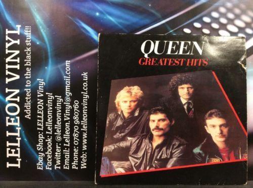 Queen Greatest Hits LP Album Vinyl Record EMTV30 Rock 70's 80's Freddie Mercury Music:Records:Albums/ LPs:Rock:Classic