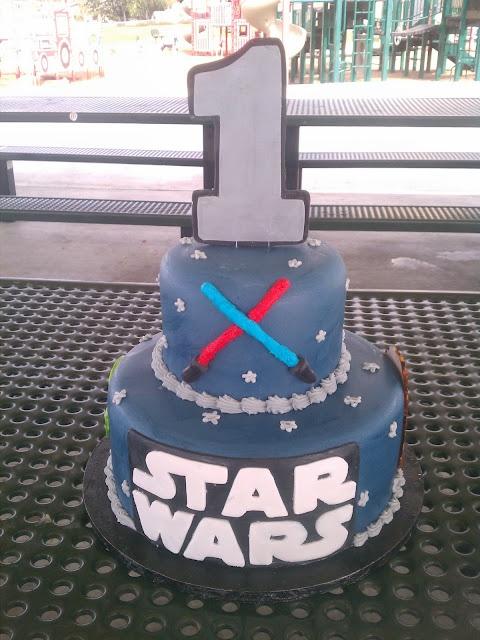 Star Wars First Birthday My Cakes Star Wars Birthday