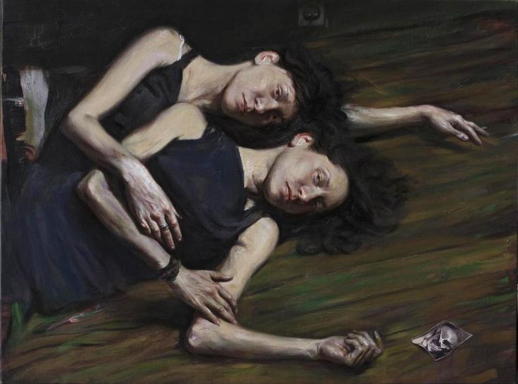 Adrianos Sotiris: δίδυμες (Twins), 2009.