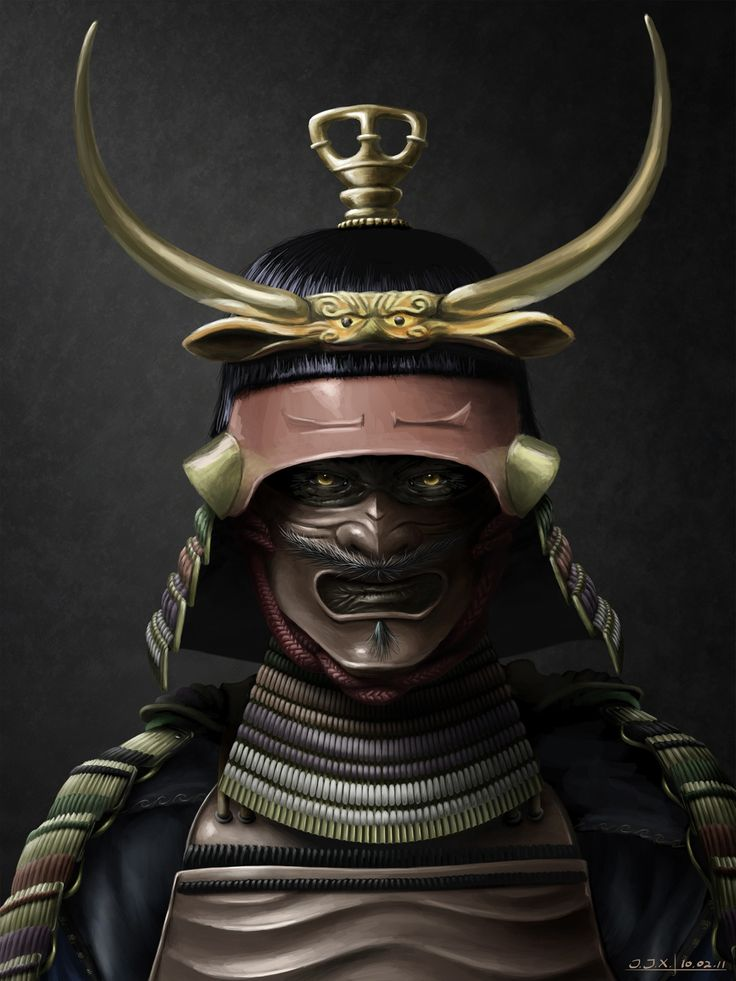 Demon <b>Samurai</b> Picture (2d, fantasy, character, demon, <b>samurai</b>, warrior ...