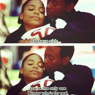 I Literally Just Watched This Part.  - love and basketball