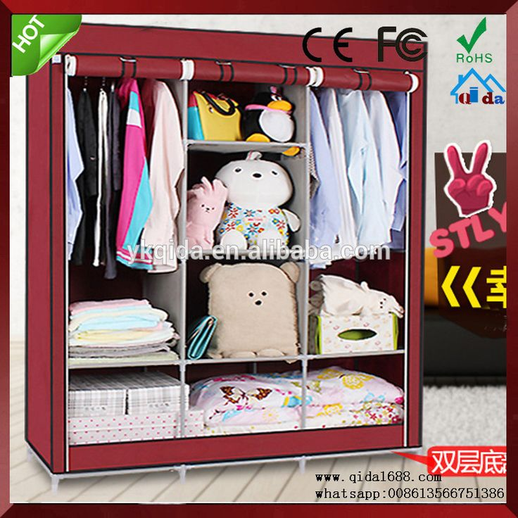 Home storage folding wardrobe/Non-woven wardrobe/cabinet/closet/cloth wardrobe