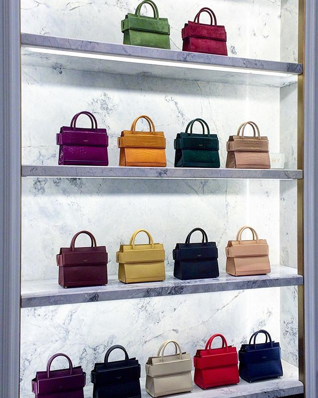804afb21d3 First in the city  shop the  givenchyofficial Mini Horizon bag in a rainbow  of colors