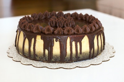 Chocolate Covered Brownie Bottom Cheesecake@Jerri Hunt.. think Darrell would like this?