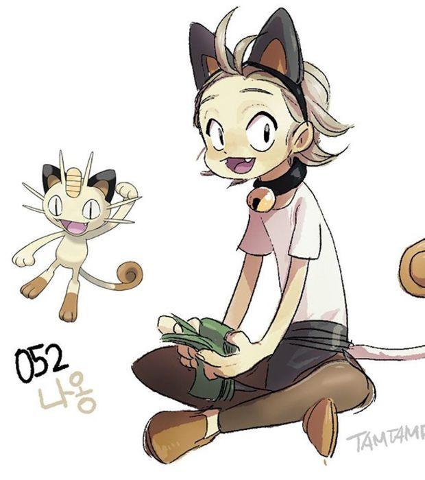 Les dresseurs ressemblent à leurs pokémon où les pokémon ressemblent à leurs dresseurs ???