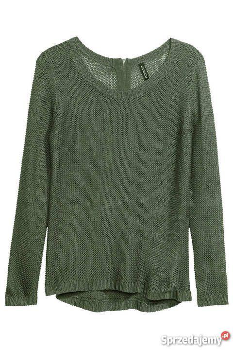 Sweter butelkowa zieleń