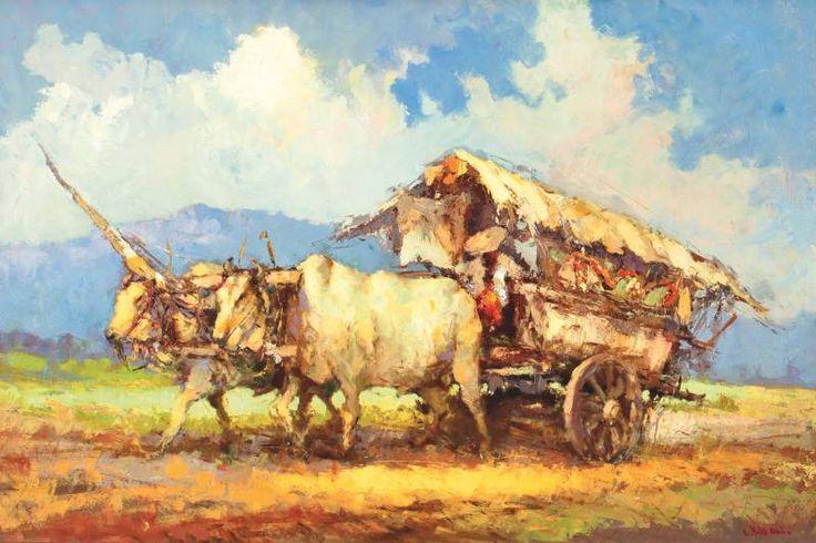 Lucien Frits Ohl - Gerobak Sapi