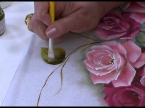 Pintura em tecido - Ana Laura Rodrigues - YouTube