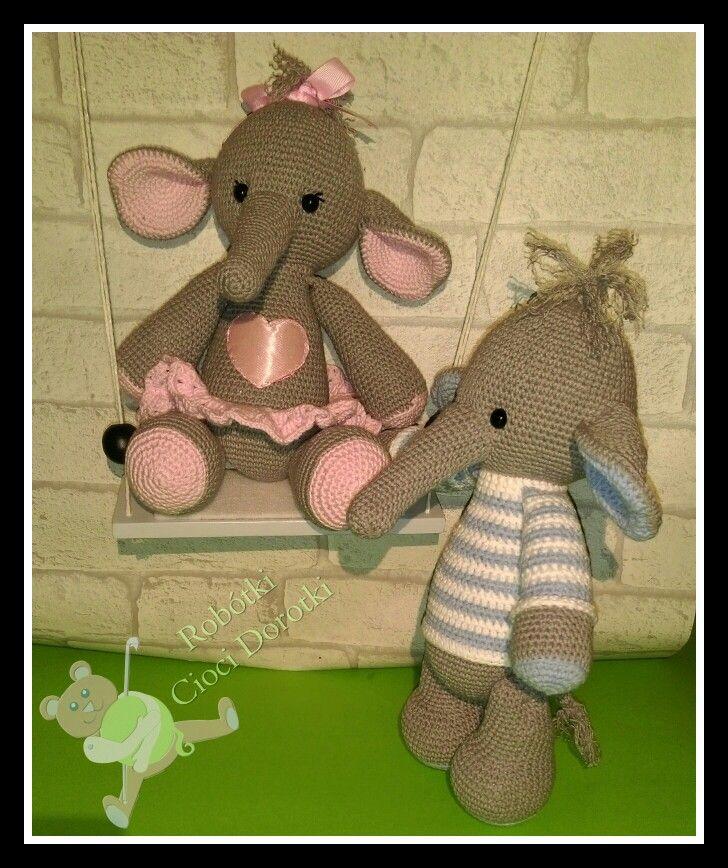 Słoń Mela i Maniek 🐘