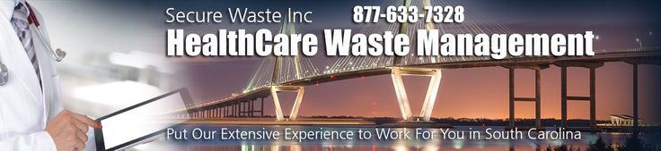 Call TOLL FREE 877-633-7328 in South Carolina for Medical Waste Disposal and removal. We offer Sharps Biohazard Waste Disposal and Medical Waste Disposal services in South Carolina.