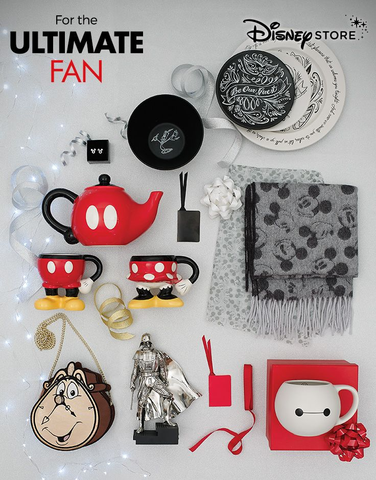 Do you know the ultimate Disney fan? Find the perfect gift online or in store at Disney Store. Check out our Christmas Gift Guide now.