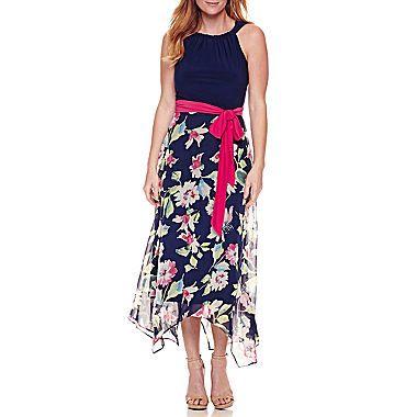 12a00d77ee1 R   K Originals Sleeveless Hanky Hem Maxi Dress