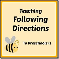 teaching preschoolers to follow directions speech and language pinterest. Black Bedroom Furniture Sets. Home Design Ideas