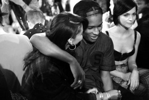 Chanel Iman & Asap Rocky.