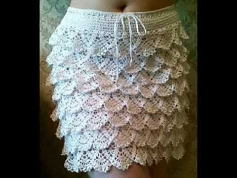 how to crochet ruffle skirt free pattern