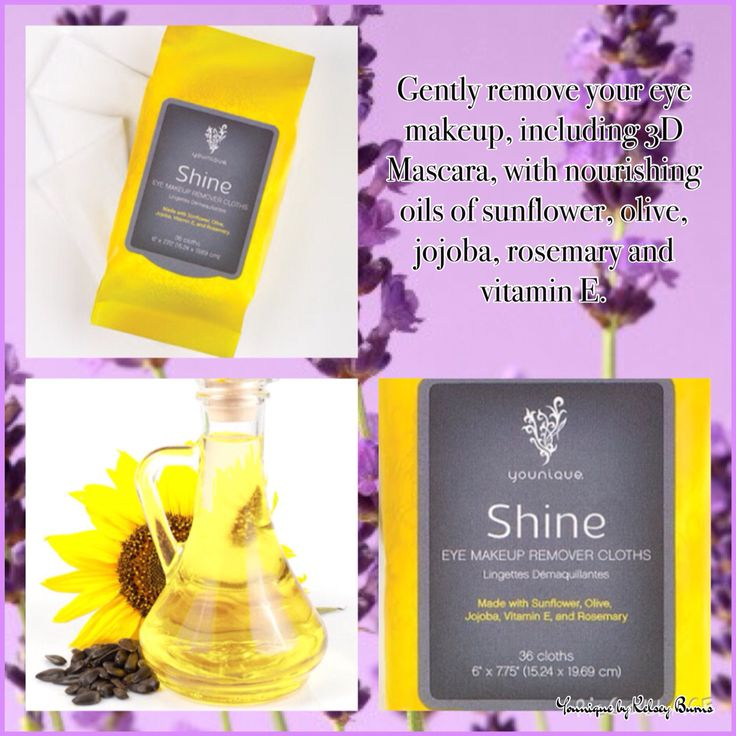 Shine make up remover wipes gently removes eye makeup with ease www.youniqueproducts.com/shinewithconfidence