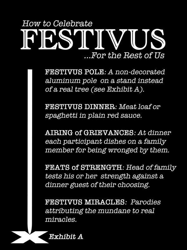 16 best festivus images on pinterest happy festivus jerry how to celebrate festivus greeting card by samuel sheats m4hsunfo
