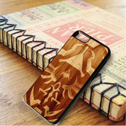 Zelda Link Hyrule Shield Wood Design iPhone 6|iPhone 6S Case
