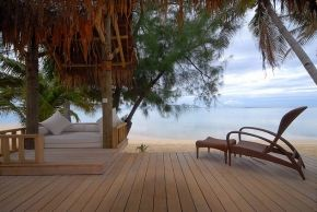 Little Polynesian Resort - Private Gazebo  #LittlePolynesian #PacificResort #Rarotonga #CookIslands