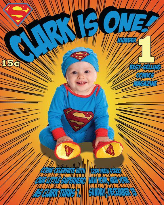 17 beste bilder om Birthday Invitations p Pinterest – Superman Birthday Invitations