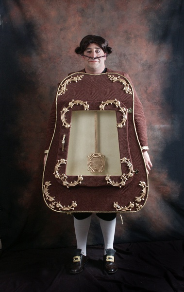 how to make a cogsworth costume