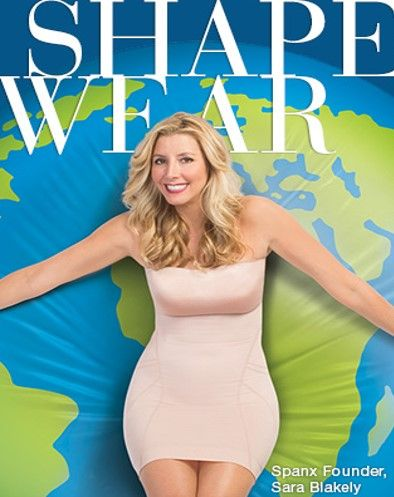 SPANX -Women often ask Sara Blakely for full-body Spanx, and while the company founder envisions dressing women head to toe, she is sticking to one body part at a time. Next up: denim jeans, making their debut in July.- By HOLLY HABER for WWD June 11, 2014