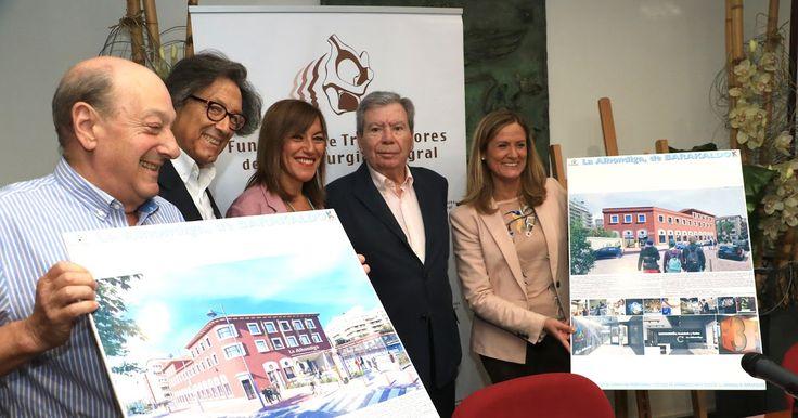 El Ayuntamiento cede por 60 años la alhóndiga a la Fundación de Trabajadores de la Siderurgia