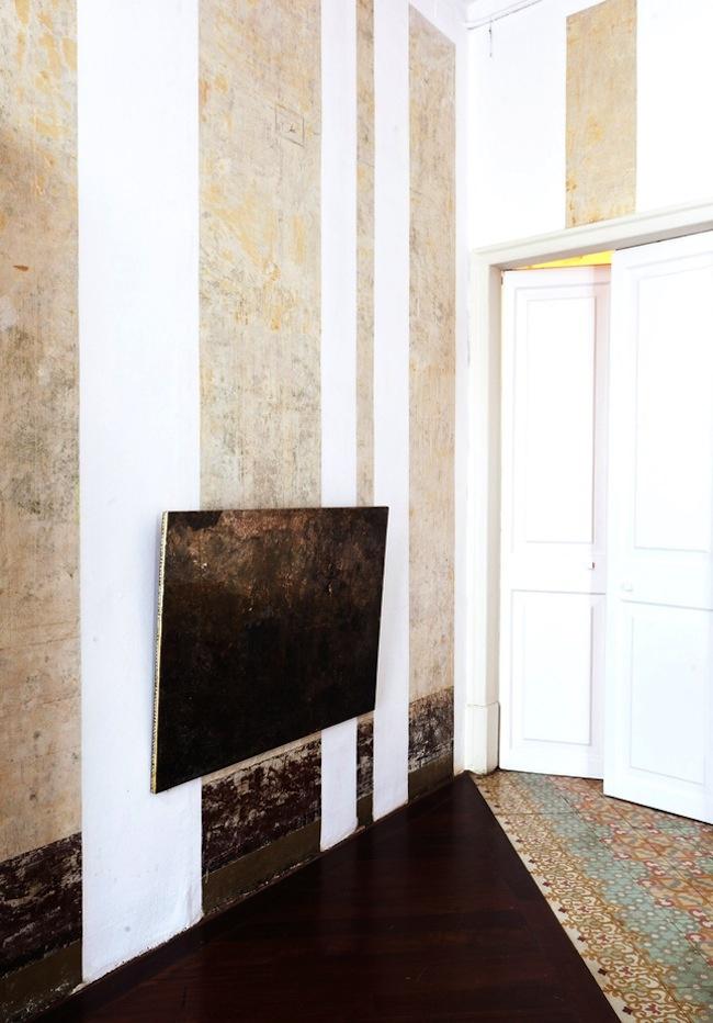 Una forma particular de pintar las paredes de una casa - Formas de pintar paredes ...