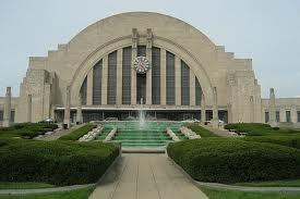 Union Terminal in Cincinnati; an Art Deco gem