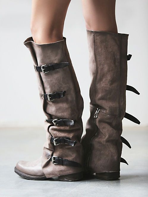 Faryl Robin + Free People Caspian Tall Lace Up Boot at Free People Clothing Boutique