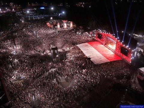 18th Woodstock Festival Poland - the FLAG