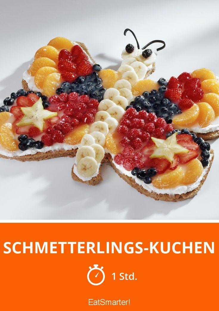 Schmetterlings-Kuchen - smarter - Zeit: 1 Std. | eatsmarter.de