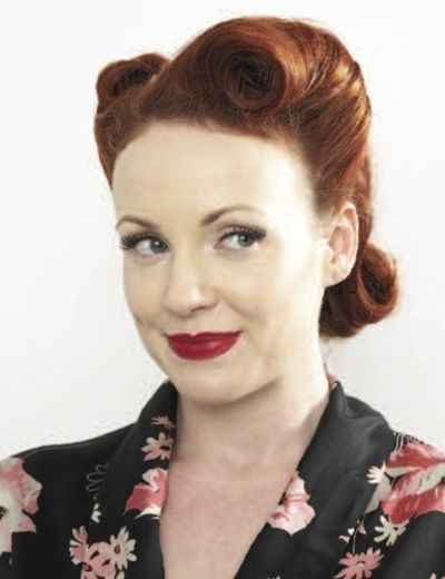 Victory Rolls · Extract from Style Me Vintage by Naomi Thompson · How To Style A Victory Roll