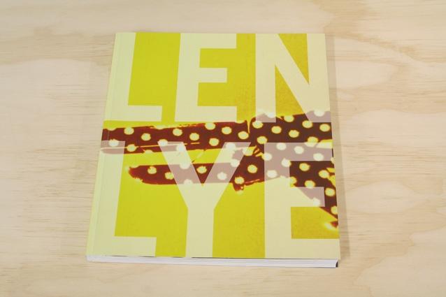 Len Lye book for Govett-Brewster Art Gallery, by Studio Kalee Jackson www.kaleejackson.com