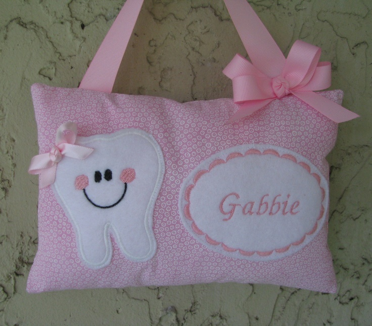 tooth fairy pillow pattern - Google Search Sewing ideas Pinterest Pillow patterns, Girls ...
