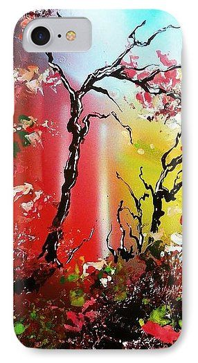 Inner Light IPhone 7 Case Printed with Fine Art spray painting image Inner Light by Nandor Molnar (When you visit the Shop, change the orientation, background color and image size as you wish)