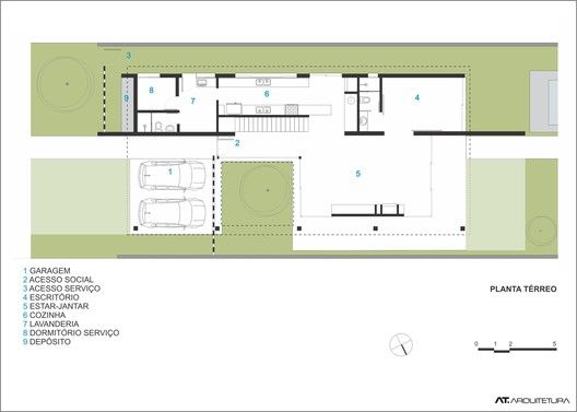 Terraville House,Plan