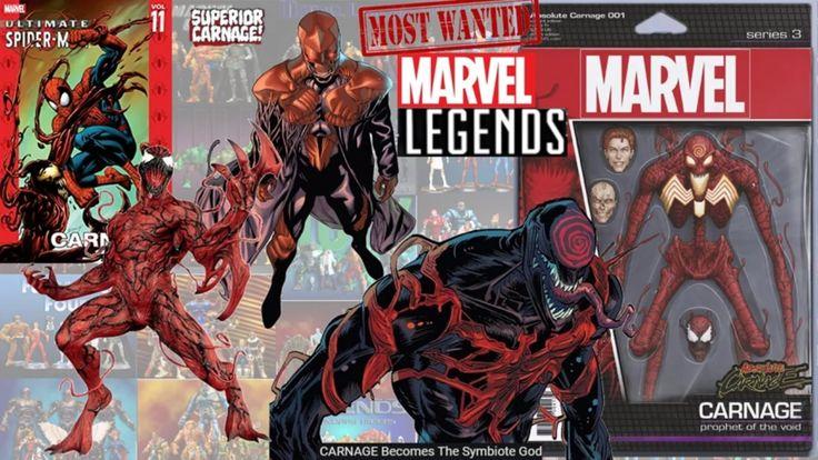 Every Marvel Legends Carnage Toybiz And Hasbro Comparison Spider Man Symbiote Carnage Marvel Legends Symbiote