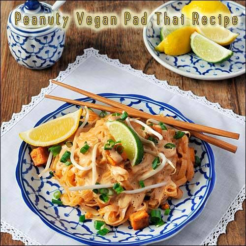 Peanuty Pad Thai | Made Just Right by Earth Balance vegan plantbased