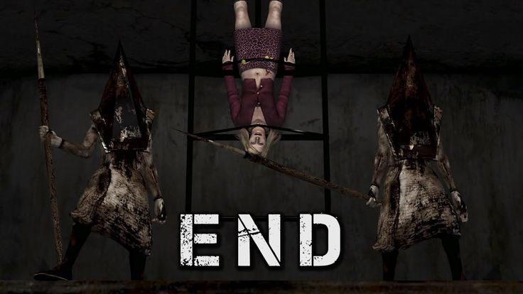 Silent Hill 2 - Final Boss Mary / Two Pyramid Heads / Rebirth ...
