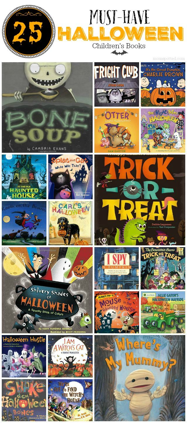 We put together out favorite 25 Must-Have Halloween Children's Books that we…