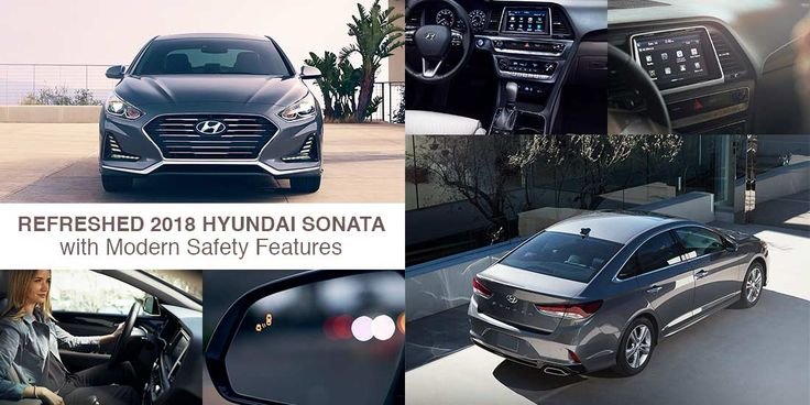 Luxurious 2018 #Hyundai Sonata with modern-day safety features and amazing technological features. Read our review. #UAE