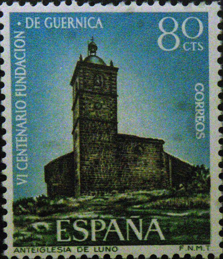 Sellos - IV Centenario Fundación Guernica  - Anteiglesia de Luno