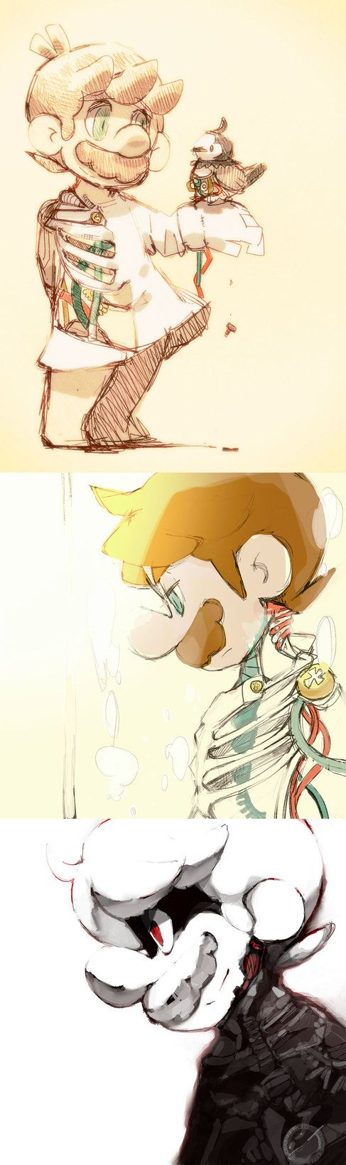 Mario's Data recovery in progress. by Uroad7 by Uroad7
