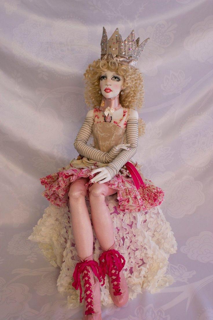 Blonde barbie pink dress  Details about Paige