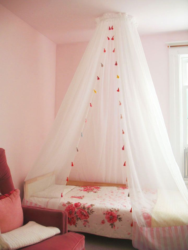 21 Charming Canopy Beds For Kidsu0027 Bedrooms. Diy BedroomGirls BedroomGirl ...