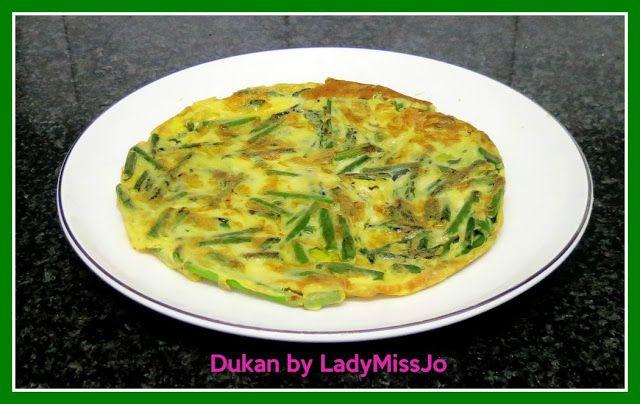 El Diario de mi Dieta Dukan by Lady MissJo: TORTILLA DE ESPÁRRAGOS TRIGEROS