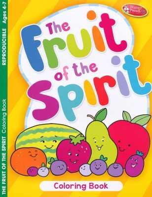 Fruit Of The Spirit Coloring Book Ages 4 7